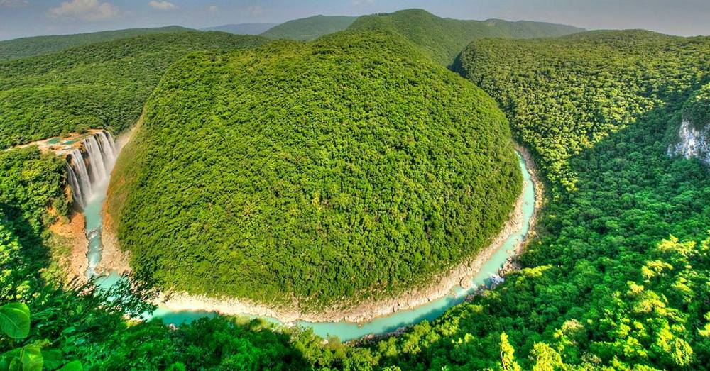 Cascadas de Tamul San Luis Potosi